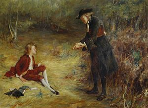 Sermon - A roadside sermon by John Pettie
