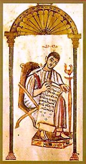 John the Evangelist (Rabbula Gospels)