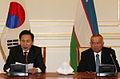 Joint Press-Conference of President Islam Karimov and President Lee - 4345155298.jpg