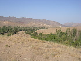 Joint of Darreh-ye Rizandeh and Barz-Rud Valley near Tareh.JPG