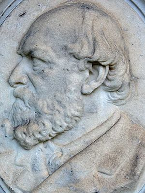 The Austro-Hungarian Monarchy in Word and Picture - Relief of Josef Weil von Weilen from the Zentralfriedhof