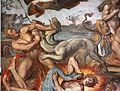 Joseph Anton Koch, inferno, 1825-28, 05 cerbero.jpg