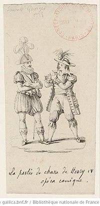 """Une scène de """"La chasse"""", estampe cover"""