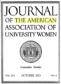 Journal of the American Association of University Women - 10-1923 cover.png