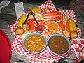 Jrb 20080924 cajun etouffee gumbo shrimp crab leg.JPG