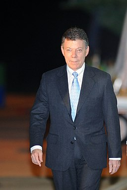 Juan Manuel Santos Calderon Brazil 1
