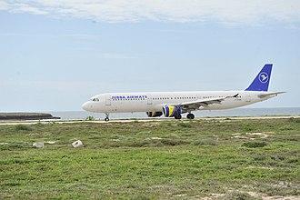 Economy of Somalia - Jubba Airways plane in Mogadishu, Somalia.