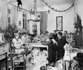 Julafton 1927, julklappsutdelning Nicosia - SMVK - C00919.tif