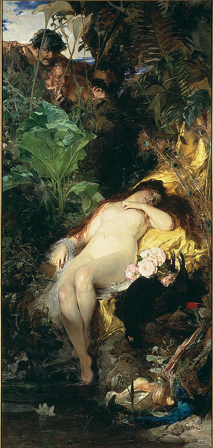 Nymph and Fauns