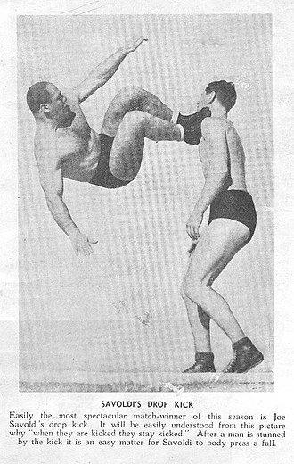 Dropkick - Jumping Joe Savoldi in Australia 1937