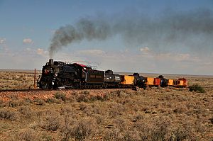 Grand Canyon Railway - Locomotive No. 4960 on the Grand Canyon Railway