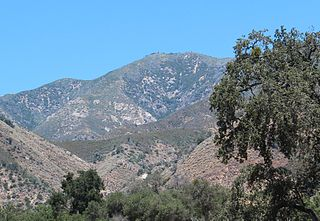 Junipero Serra Peak mountain in United States of America