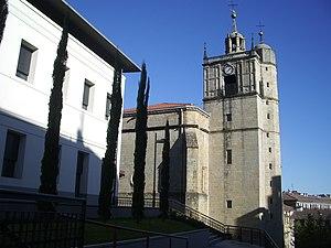 Irun - Junkaleko Andre Maria church, Irun.