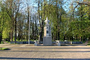 Jurbarkas - Vytautas the Great Monument