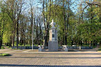Jurbarkas - Vytautas the Great Monument