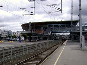 Jyväskylä Central Station - Image: Jyväskylän rautatieasema
