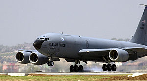 Incirlik Air Base - KC-135R Stratotanker from the Ohio Air National Guard's 121st Air Refueling Wing at Incirlik, Turkey