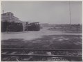 KITLV - 5415 - Kurkdjian - Soerabaja - Locomotives and train on the grounds of the sugar company Ketanen at Mojokerto - 1916-04.tif