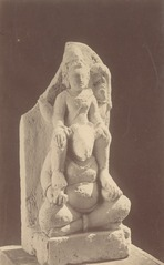 KITLV 87689 - Isidore van Kinsbergen - Hindu-Javanese sculpture coming from the Dijeng plateau - Before 1900.tif