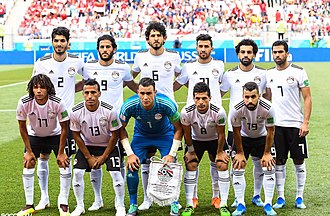 Egypt national football team - Egypt national team at the 2018 FIFA World Cup in Russia