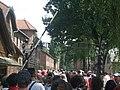 KZ Auschwitz I (Stammlager), Arbeit macht frei, by Tizian Sander 2010.JPG