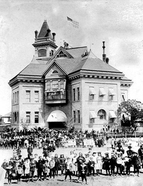 K Street HS, Fresno CA 1897