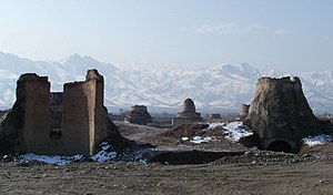 Brickyard - Domed kilns on ancient brickyards in Kabul