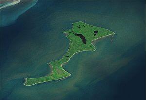 Kalgin Island - Satellite picture of Kalgin Island