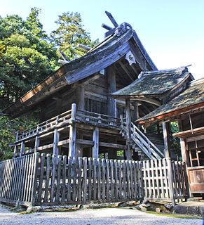 Shinto shrine in Shimane Prefecture, Japan