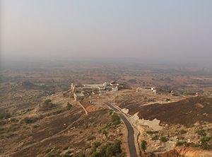 Kanakagiri Jain Shri kshetra - Distant view of Kanakagiri Tirth