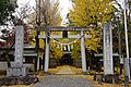 Kanemura-wakeikazuchi-jinja(Tsukuba) Torii2.jpg