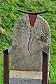 Kap Arkona, Stuhl aus Stein und Stahl, b (2011-10-02) by Klugschnacker in Wikipedia.jpg