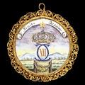 Karl XII av Sverige, medaljong CXII, nordstjärna - Livrustkammaren - 87501.tif