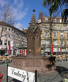 ludwigsplatz karlsruhe wikipedia. Black Bedroom Furniture Sets. Home Design Ideas