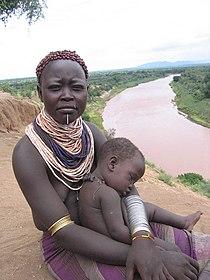 Karo woman and child.jpg