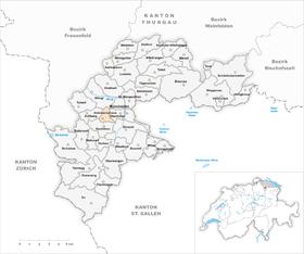 Karte Gemeinde Holzmannshaus 1870