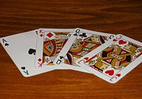 Karty do gry . Playing card.JPG