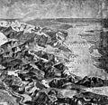 Kaspisches Meer und Kaukasus 1915. Ausschnitt aus Vogelschauperspektive Türkei und Bagdadbahn.jpg