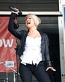 Katie Owen singing live in Birmingham UK.jpg