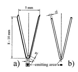 Electron-beam welding - Tungsten cathodes: strap - wire