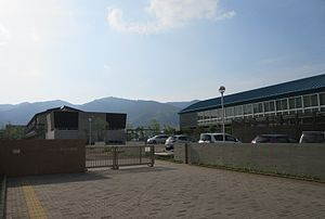 Katsuura Town Katsuura junior high school.JPG