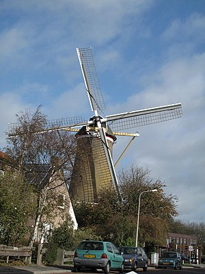 Katwijk aan den Rijn - Image: Katwijk aan den Rijn, korenmolen de Geregtigheid 2009 10 25 12.54