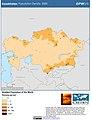 Kazakhstan Population Density, 2000 (5457014801).jpg