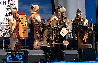 Turan ensemble Kazakh band of kazakhstan, playing shamanic turkic music
