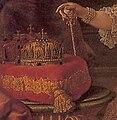 Keizerin Maria Theresia geschilderd door Martin van Meytens, 1752-53 - detail kroon.jpg
