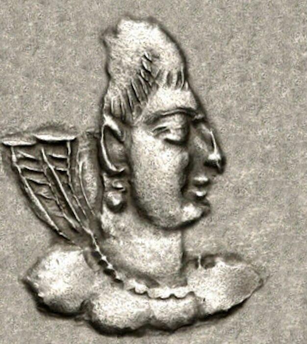 Khingila of the Alchon Huns young circa AD 440-490