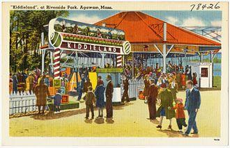 Six Flags New England - Image: Kiddieland, at Riverside Park, Agawam, Mass (78426)
