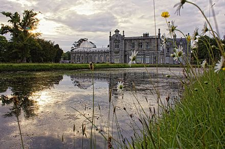 Killruddery House, an Elizabethan-Revival mansion built in the 1820s. Killruddery House, Co.Wicklow.jpg