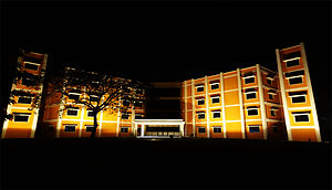The new faculty block of Kilpauk Medical College