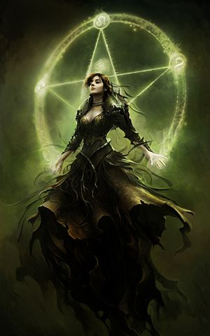 Morgan le Fay in popular culture - Morgana Le Fay in a concept art for the 2012 video game King Arthur II